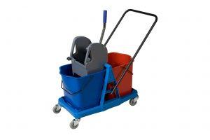 kolica za ciscenje 46l plasticni ram af08074